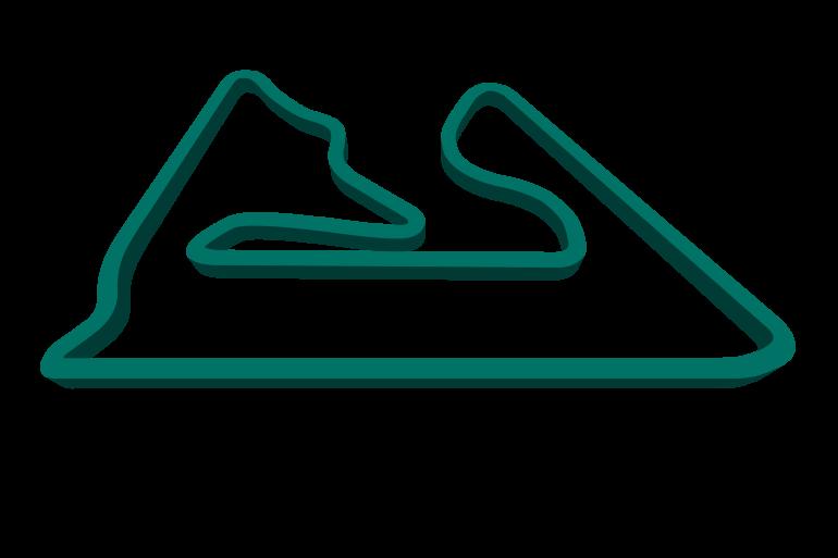 Bahrain GP track map