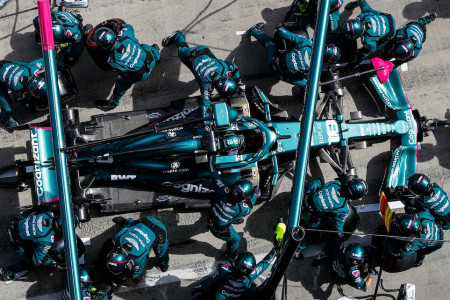 Lance's Styrian Grand Prix pitstop was completed in 2.2 seconds