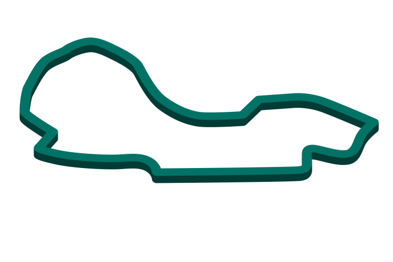 2021 Australian GP track map