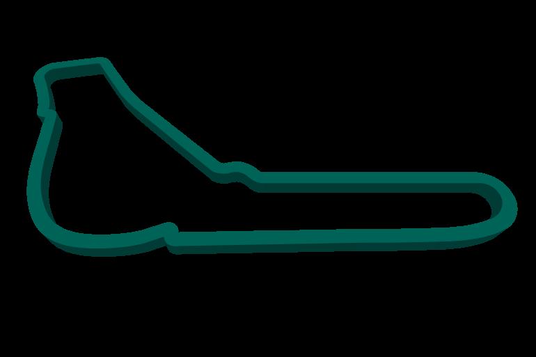 2021 Italian GP track map