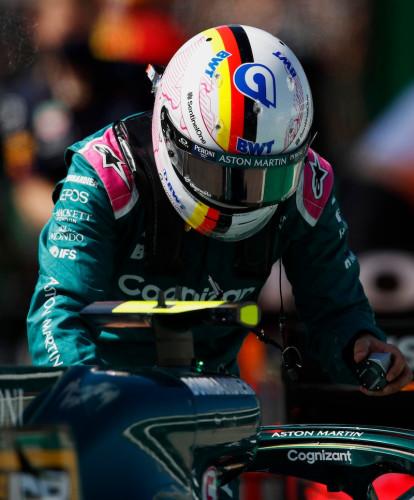 Sebastian Vettel Portuguese Grand Prix Saturday