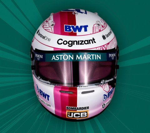 Sebastian 2021 helmet
