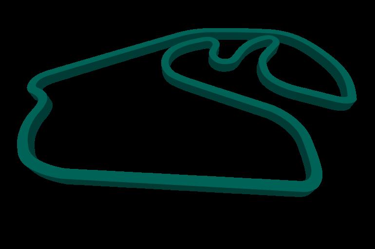 2021 Brazilian GP track map