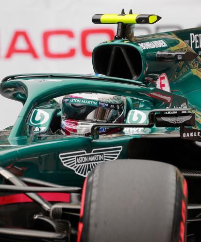 Sebastian Vettel 2021 Monaco Grand Prix