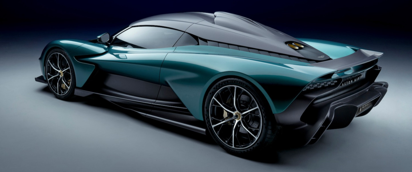 Up close with the striking design of the Aston Martin Valhalla