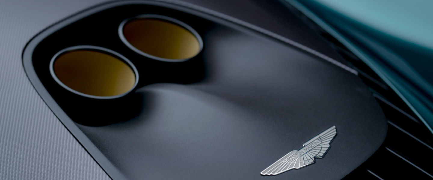 The Valhalla features Aston Martin's signature eye for detail