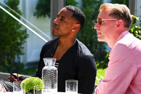 Reggie Yates sits with DJ, Songwriter and Producer Owen Cutts