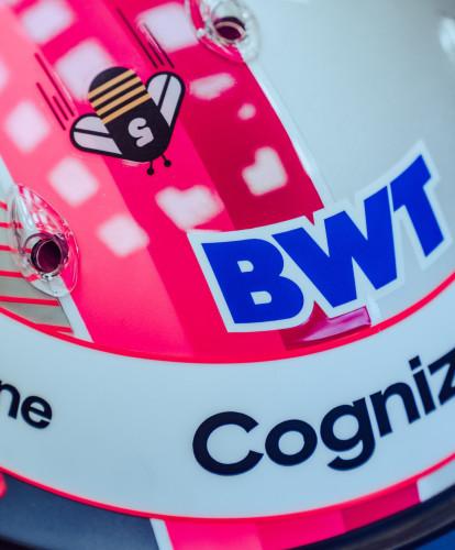 Sebastian Vettel's Austrian GP crash helmet