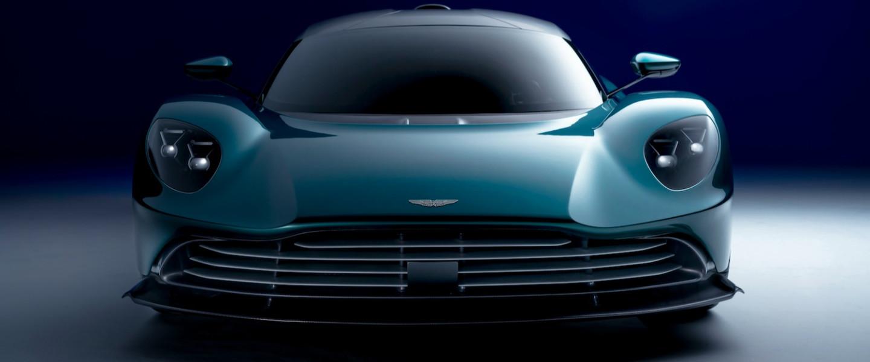 The Aston Martin Valhalla is revealed