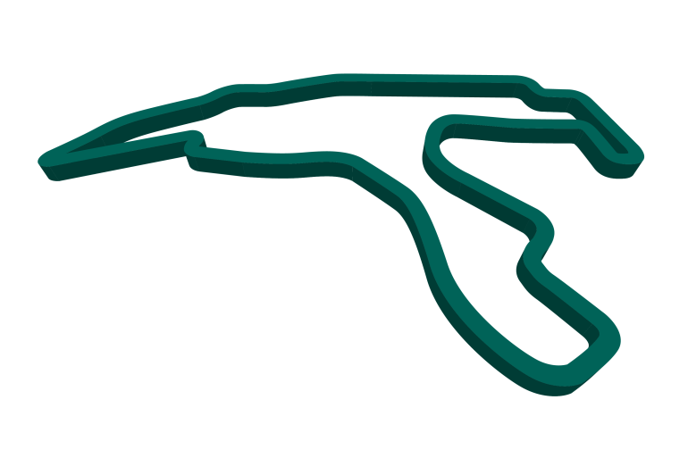 2021 Belgian GP track map