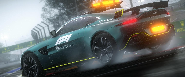 Aston Martin Vantage Safety Car in F1 2021