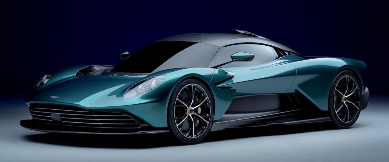 The Valhalla features active aerodynamics