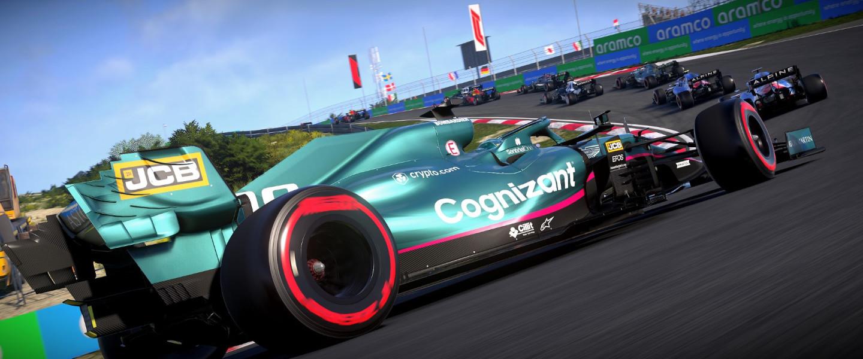F1 Esports Game - Lance Stroll Rear