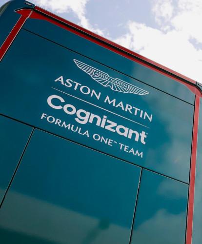 Aston Martin Cognizant Formula One Team logo