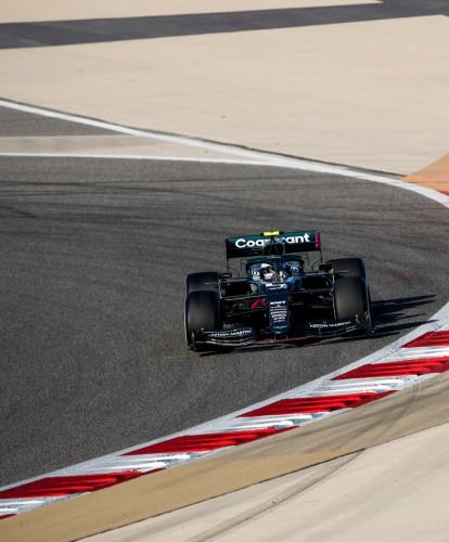 Sebastian Vettel day three Bahrain pre-season test