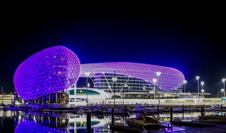 2021 Abu Dhabi GP scenic