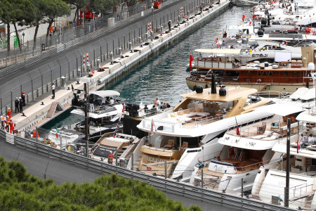Into Tabac and past the Monte Carlo harbour