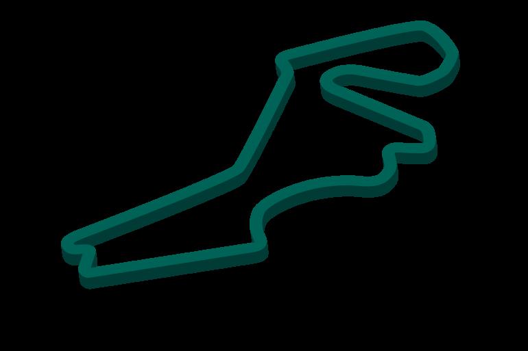2021 Turkish Grand Prix track map