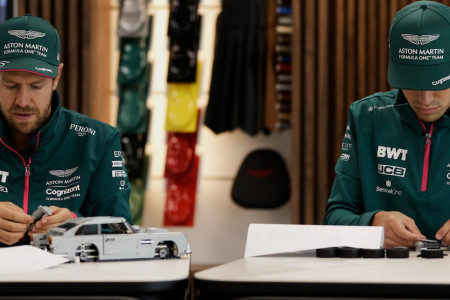 Lance vs Seb: The duo take on the challenge of building the LEGO DB5