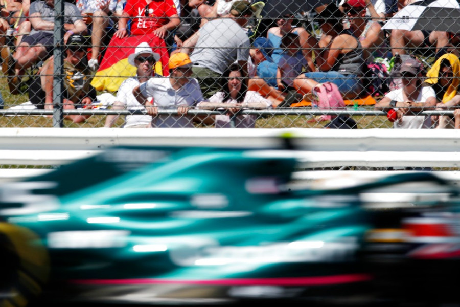 Silverstone welcomed a capacity crowd for the British Grand Prix