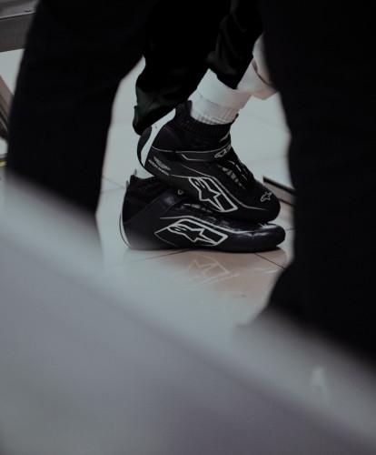 Sebastian Vettel's Alpinestar boots