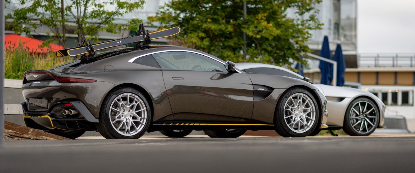 Aston Martin is celebrating its history with James Bond at an exclusive event