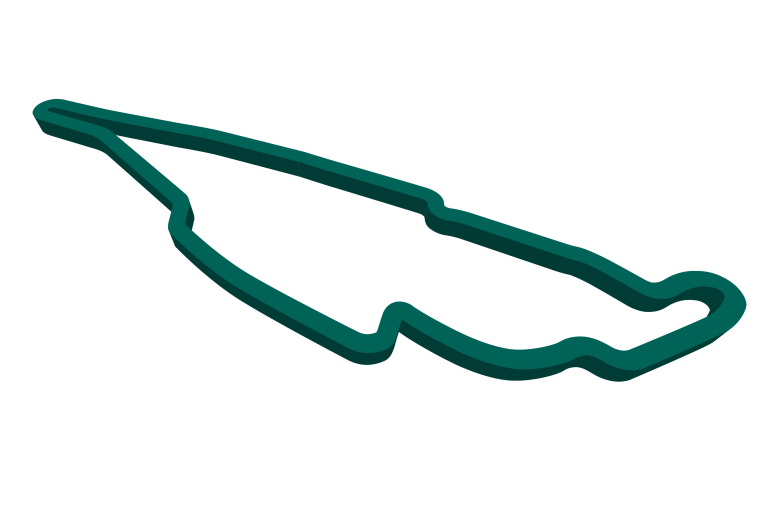 2021 Canadian GP track map