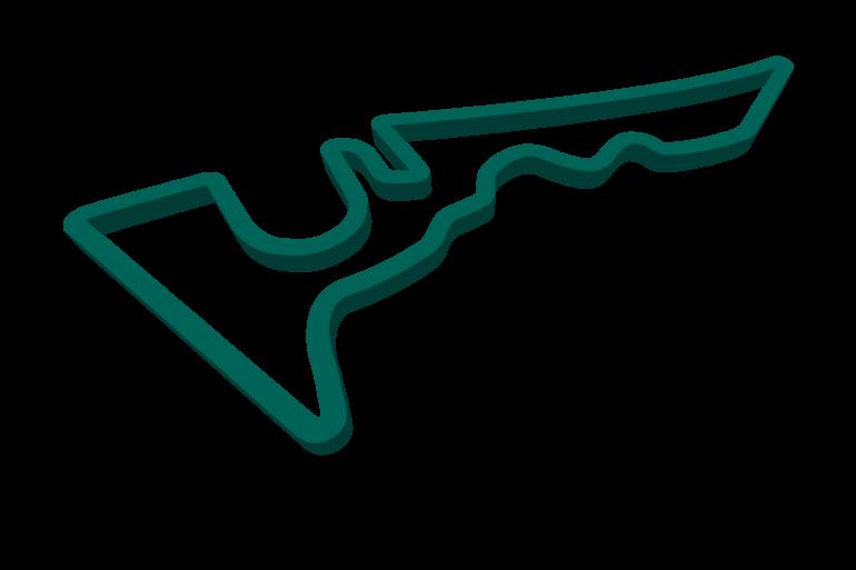 2021 United States GP track map