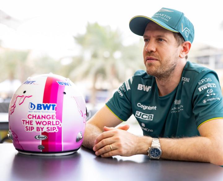 Sebastian 2021 BWT helmet