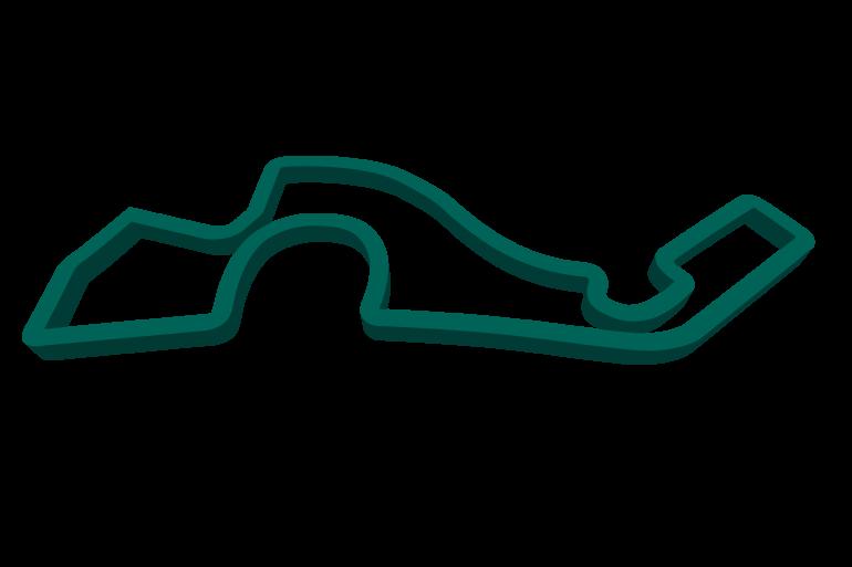 2021 Russian GP track map