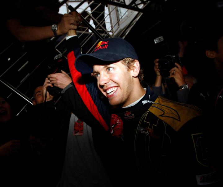 Sebastian 2008 Italian Grand Prix
