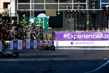 Sebastian comes home second for Aston Martin's first World Championship podium