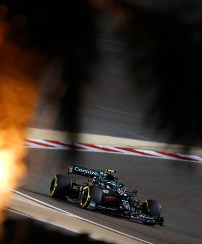 Sebastian 2021 Bahrain GP Friday