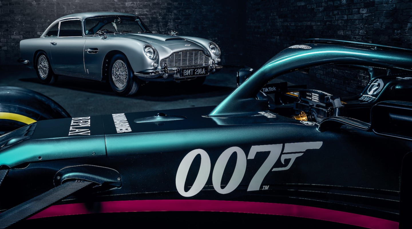 AMR21 meets the DB5