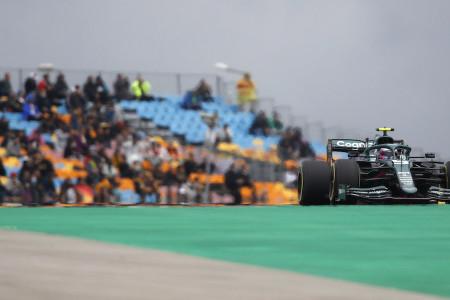 Sebastian runs on the Medium tyre in Turkey