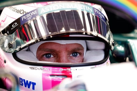 Sebastian moments before heading out for qualifying in Styria