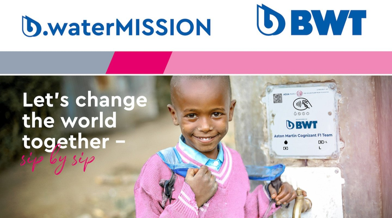 Water Mission header