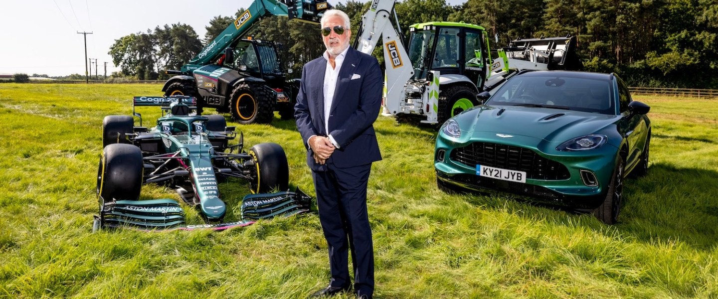 Lawrence Stroll at the Aston Martin Cognizant Formula One™ Team factory groundbreaking