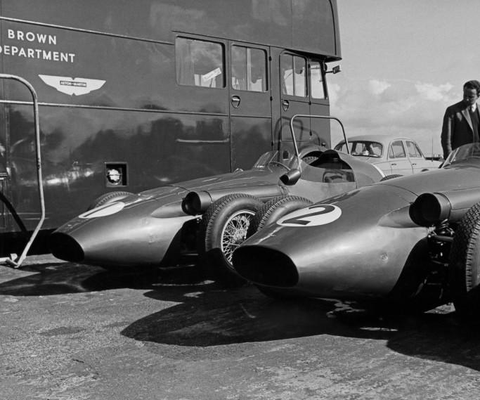 DBR4 at Silverstone 1959